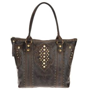 NWT Frye Studded Tote